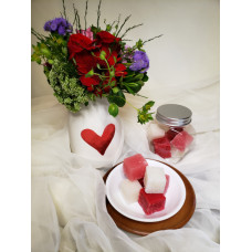 Passionate Rose Sugar Scrub Cubes
