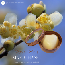 Lotion Bar with May Chang Essential Oil