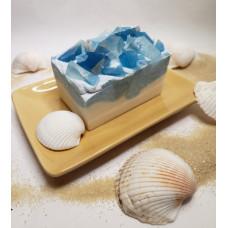 Aquamarine Crystals and Sea Salt Soap