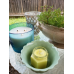 August Peridot Lemongrass Scented Candle