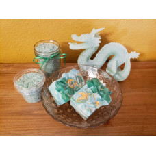 May Emeralds and Lily of the Valley soap