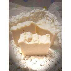 Pure White rustic soap